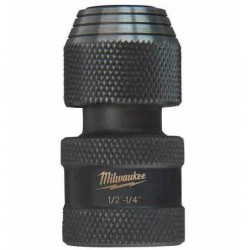 "Milwaukee adapter 1/4 HEX x 1/2"" kwadrat shockwave"