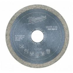 Milwaukee Tarcza diamentowa 115 mm do płytek DHTI