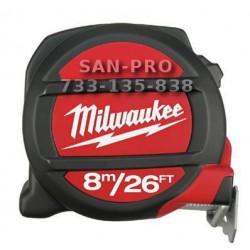 Milwaukee miara magnetyczna 8 m calowa i metryczna