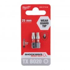 Bit TX BO 20 -25 mm blister 2szt
